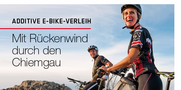 ADDITIVE e Bike Shop, e Bike Parts und e Bike Verleih in Prien am Chiemsee